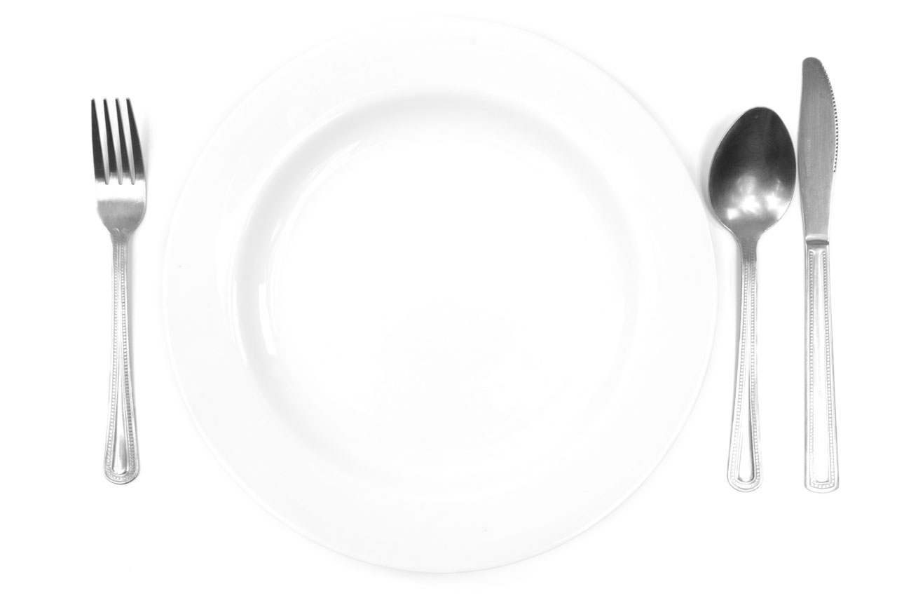 Plate and Cutlery CC0 Public Domain