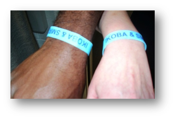 The new Partnership Wristbands
