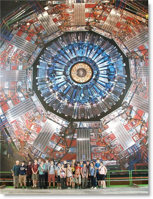 At the CMS detector